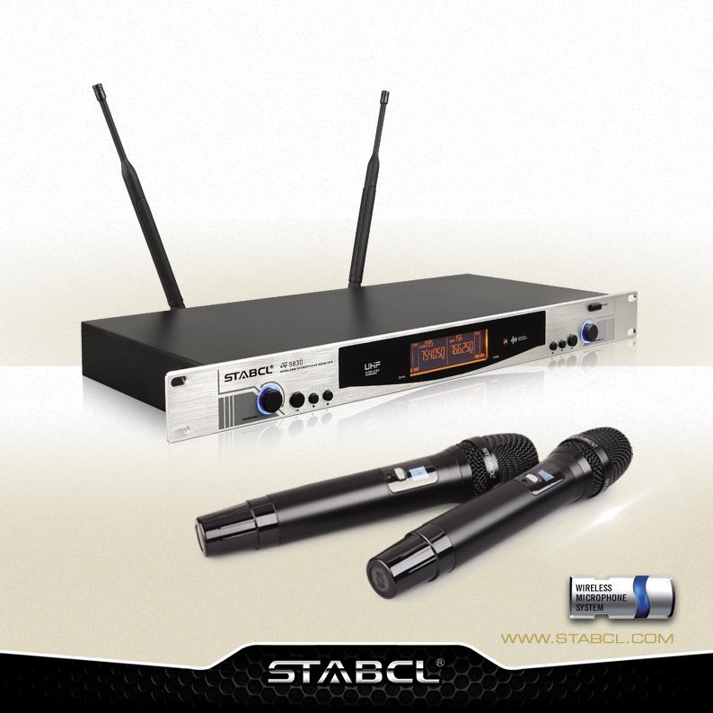 ST-9830 KTV无线麦克风