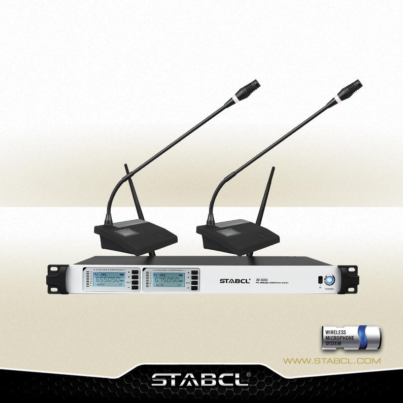 ST-8202 一拖二会议无线麦克风