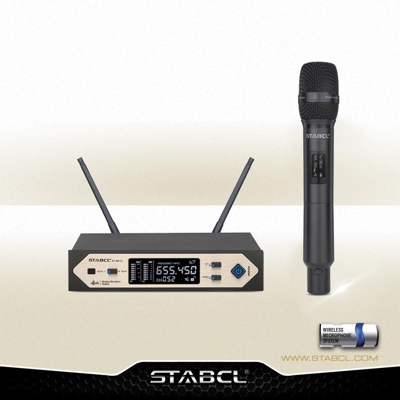 ST-9810 一拖一演出型真分集无线麦克风
