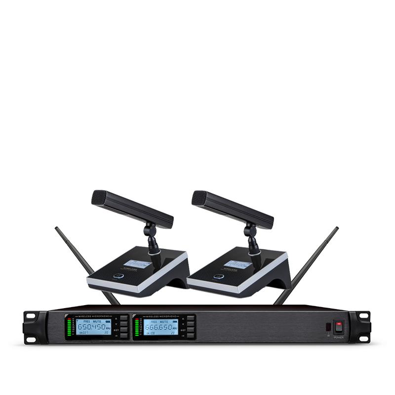 ST-802 一拖二无线会议麦克风