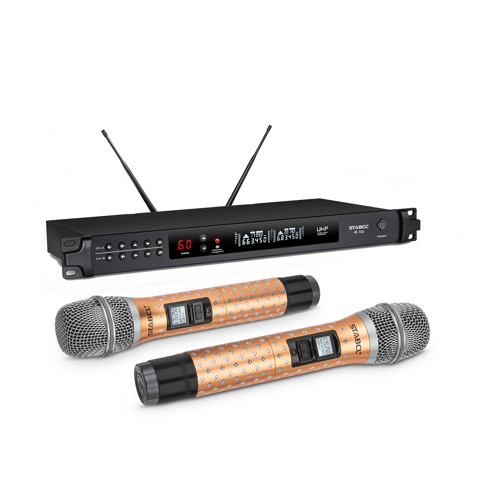 ST-9770 钻工艺KTV无线麦克风